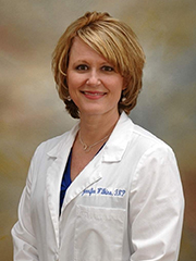 Shah and Associates Family Practice provider Jennifer Wilkins, FNP